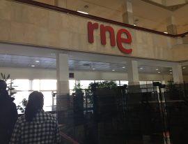 Visita a los estudios de RTVE