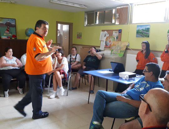 FORMACIÓN CON EL SAMUR-PROTECCIÓN CIVIL