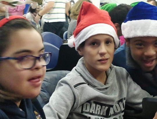 Actuación navideña en La Salle