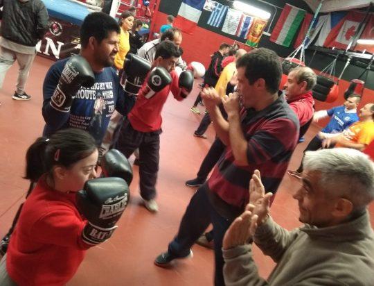 Boxeando