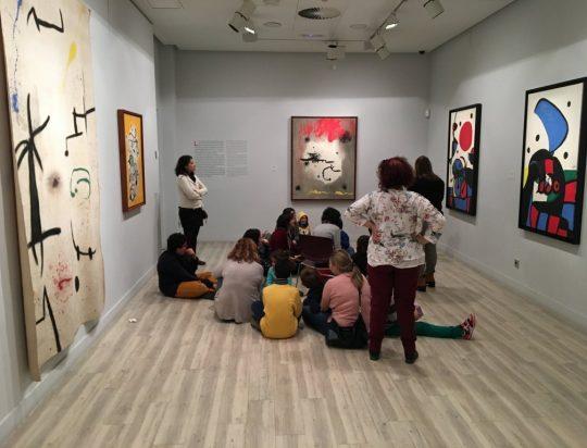 Exposición permanente Espacio Miró